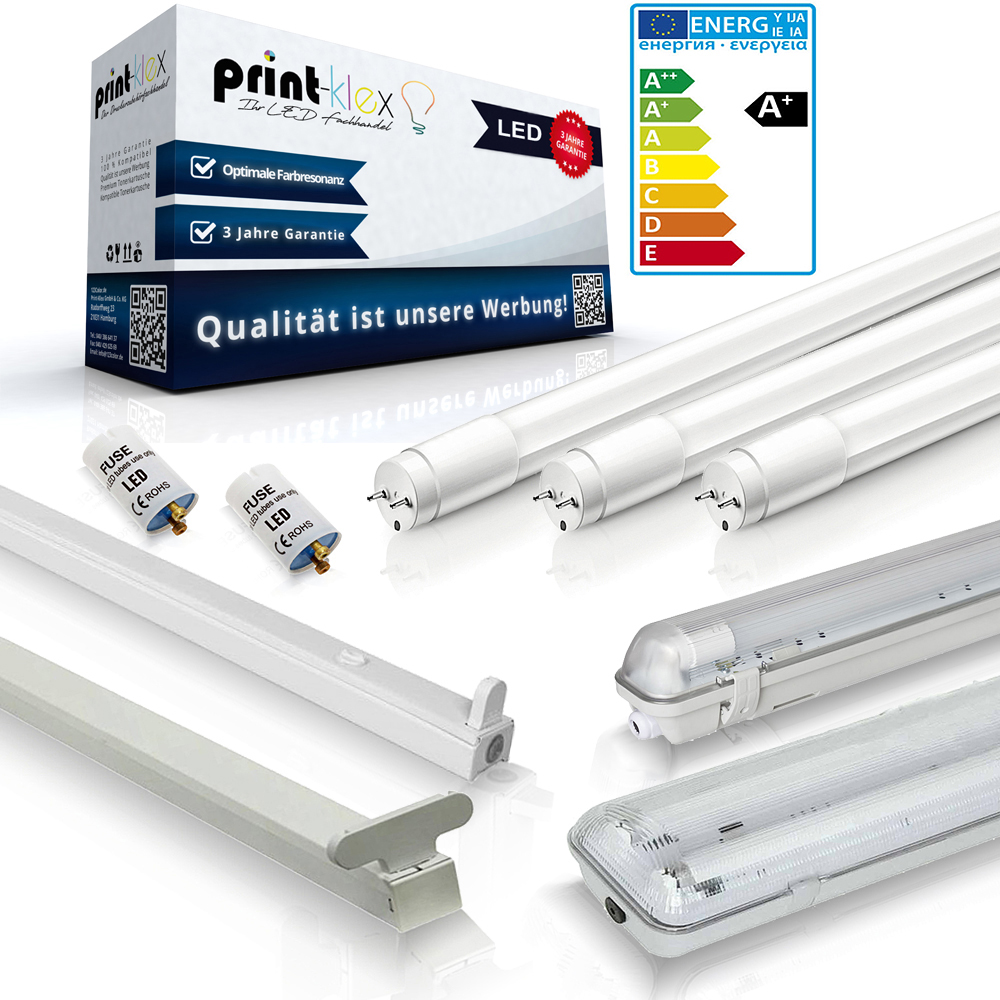 SMD LED Röhre LED Tube T8 120cm 24W G13 2400lm 4000°K Neutralweiß LED Starter