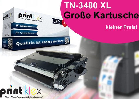 kompatible Tonerkartusche für Brother TN3480