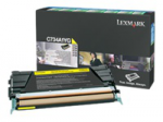 Original Lexmark C736H1KG Toner-Kit schwarz return program